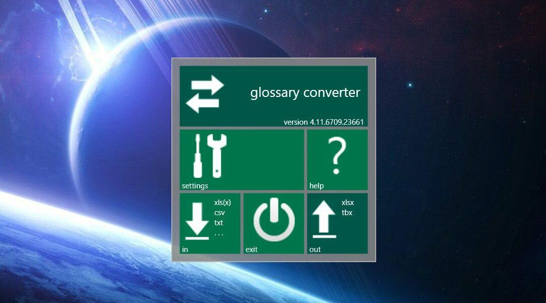 Glossary Converter